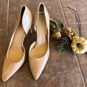 Jessica Simpson Paryn Patent Heels Size 13 M